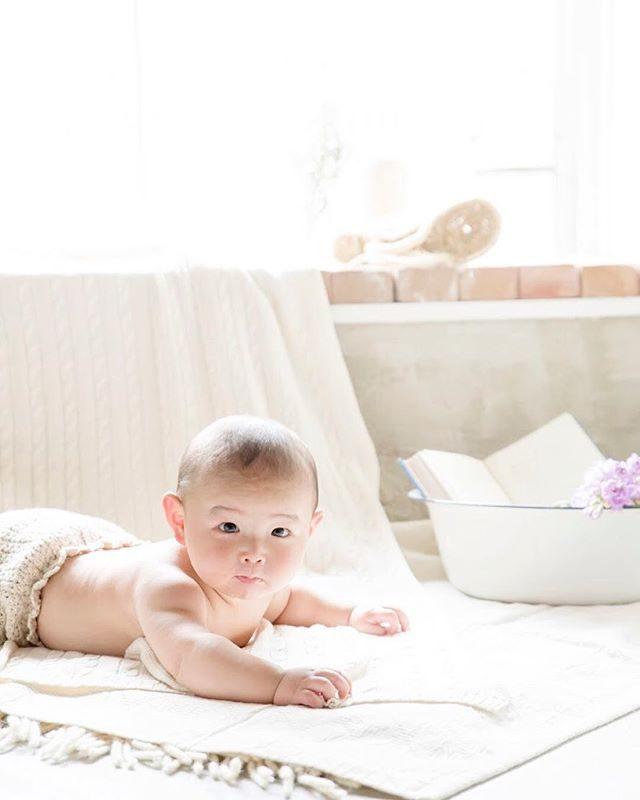 ハーフバースデー記念。#出張撮影#ハーフバースデー#アルクウミ#6month#赤ちゃん#写真好きな人と繋がりたい#写真撮ってる人と繋がりたい#アンティーク#湘南#東京カメラ部#ママリ#コドモノ (Instagram)
