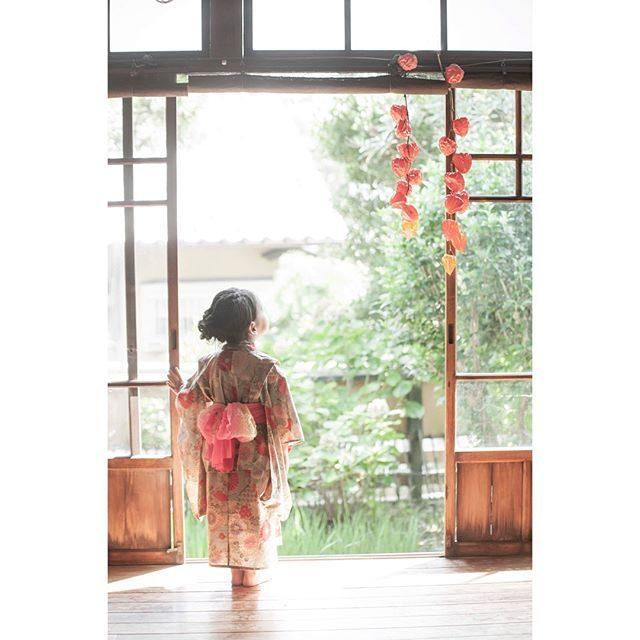 engawa写真館。ママの手作り浴衣。古民家で残すお子様の成長記録と手づくりから伝わるママの想い。 (Instagram)