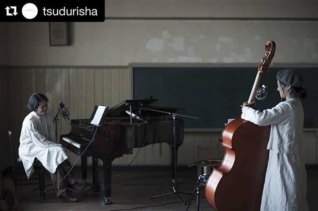 山梨 大須成小学校。廃校の音楽室にてスライドショー用楽曲のレコーディング。ご縁とご縁の糸を紡ぐってこういうこと なのですね♪携わっていただく 皆さんに本当に感謝しています。#Repost @tsudurisha with @get_repost・・・豪華なメンバーによるプロジェクト進行中。今日は学校がスタジオと化しています。まなさん @ito___photography 、最高ですよ!#つづり舎#写真#デザイン#つくろい#撮影#写真館#ダーニング#刺しゅう#フィルム#photo#design#廃校#作品#アート#TOWA#スライドショー#音源録音#スタジオ#music#詳細はまた。 (Instagram)